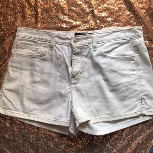 Calvin Klein White Jean Shorts Sz 12